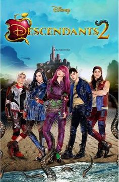 Descendants 2 poster.