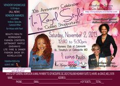 Chic Boutique 'In Royal Style' Vendor Fair & Awards dinner fashion show, Nov 2 Women's Club of Catonsville St Timothy's Lane - prizes, contests, auction, fashion, food, fun!