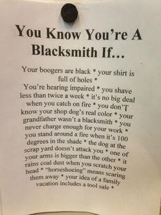 Blacksmith !