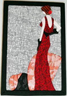 Caixa em MDF com divisórias, decorada com a técnica de patchwork embutido, impermeabilizada e totalmente revestida de tecido 100% algodão. Fazemos também em outras cores e tamanhos sob encomenda. R$ 60,00