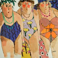 Big And Beautiful, Beautiful Women, Pop Art, Street Art, Funny Girls, Cecile, Girl Humor, Oeuvre D'art, Les Oeuvres