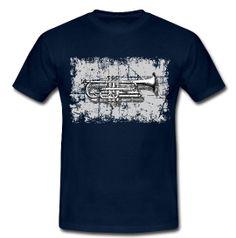Cornet Shirt for men Trumpet, Fashion Accessories, Mens Tops, T Shirt, Supreme T Shirt, Tee Shirt, Trumpets, Tee