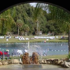 Warm Mineral Springs, Florida.