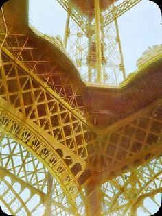Paris Exposition: Eiffel Tower, Paris, France, 1900, via Flickr.