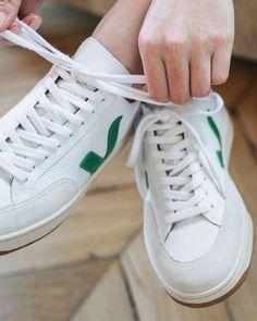 sports shoes a5dd7 27d4c V-12 b-mesh white emeraude