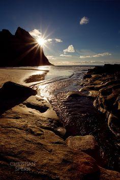 Kvalvika Beach by Christian Sperr on 500px