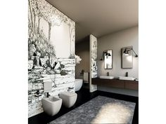 Contemporary style ceramic toilet SHUI COMFORT | wc a terra