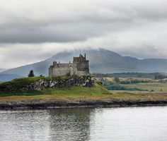 Duart Castle, Scotland. Duart Castle or Caisteal Dhubhairt in Scottish Gaelic is a castle on the Isle of Mull, off the west coast of Scotland, within the council area of Argyll and Bute. The castle dates back to the 13th century and is the seat of Clan MacLean.