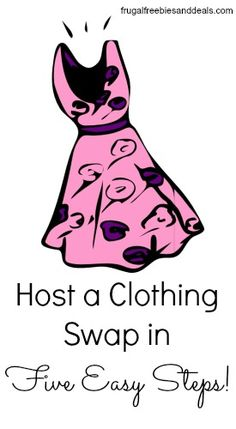 """How to Get a Brand New Wardobe for FREE – Frugal Living Mom How to Get a Brand New Wardobe for FREE """"Centsible"""" Spring Clothing: How to Host a Spring Clothing Swap in Five Easy Steps! Clothing Exchange, Clothing Swap, Clothes Swap Party, Party Fiesta, Host A Party, Girls Night, Making Ideas, Pink Dress, Spring Outfits"""