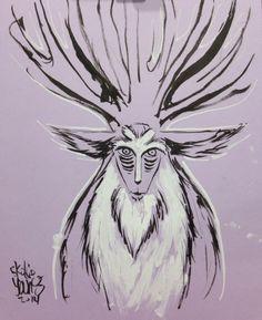 Princess Mononoke - Wood Spirit by Skottie Young *