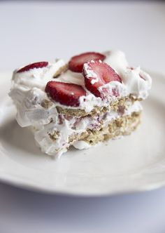This recipe is very similar to our popular Chocolate Eclair Cake, but with delicious ripe strawberries instead of chocolate! It's the perfect summer dessert!  Grab the recipe below. :)   I have also put together a how-to video!