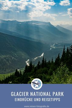 Glacier Nationalpark  Wilde Berge und tolle Aussichten im Norden von Montana in den USA.