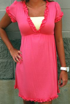 Yahada v-neck dress--for a hot summer day