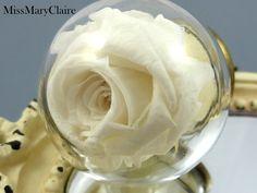 Ketten lang - ECHTE Rosen Kette - ein Designerstück von MissMaryClaire bei DaWanda