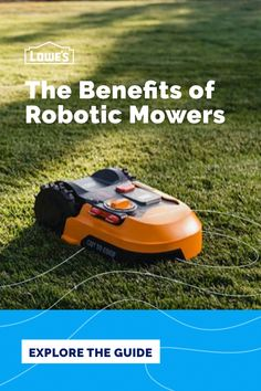 Deciding between a robotic lawn mower vs. a traditional mower? A robotic mower operates with minimal time and effort needed from you. It's a lifestyle-friendly mower that gives you back time with assurance that your lawn is well cared for. Compare robotic mowers to standard mowers and see how to keep your lawn in top shape while reclaiming precious free time.