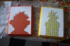 Bert and Ernie silhouettes
