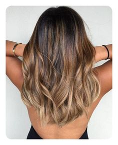 Caramel and ash blond balayage for brown hair # Hair Beauty Ombre Hair Color, Hair Color Balayage, Brown Hair Colors, Carmel Hair Color, Summer Hair Colour, Best Hair Color, Hair Color For Tan Skin, Hot Hair Colors, Ash Blonde Balayage