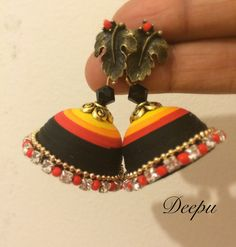 Quilling jumka by Deepucreations on Etsy