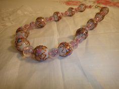 Original 1920s Venetian wedding cake beads  #vintageprettythings Venetian Wedding, Pandora Charms, 1920s, Wedding Cakes, Beaded Bracelets, Charmed, Beads, Pretty, Vintage