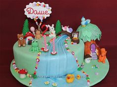Coolest Enchanted Forest Birthday Cake... Coolest Birthday Cake Ideas