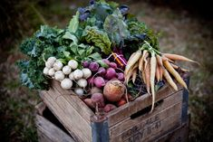 love fresh produce almost as much as I love apple crates