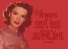 by Judy Garland