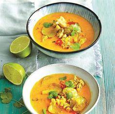 Thajská polévka Tom Yum
