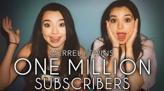 ONE MILLION SUBSCRIBERS - Merrell Twins (Music Video) - YouTube