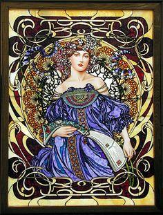 Mucha, Alphonse (Czech Art Nouveau painter, 1860-1939)