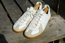 Rare VTG German Army Trainers GATS BW Sports Suede & Leather 280 UK 9.5