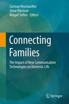 Connecting Families  http://rd.springer.com/book/10.1007/978-1-4471-4192-1/page/1