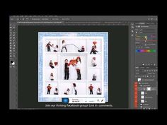 Changing the Color of Inside the Box Photo Borders and Grids in Photoshop - YouTube Valentines Day Card Templates, Facebook Header, Photoshop Youtube, Photo Boxes, Inside The Box, Custom Cards, Creative Photography, Lightroom, Grid
