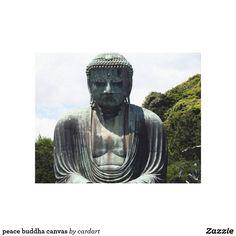 peace buddha canvas