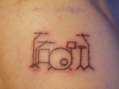 drum tattoos - Google Search