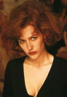 In case you missed it…Gillian ain't 'fraid of no ghost. Nor is she, apparently, afraid of no GIANT HAIR.