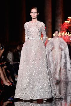 Elie Saab.  If i was getting married this year. The Best Looks From the Fall 2015 Couture Runways  - ELLE.com