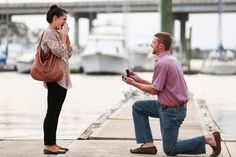 proposing where they first met ten years earlier- how he asked-