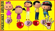 Pepee | Parmak Ailesi | Finger Family  | Okul Öncesi Çocuk Şarkıları | A...