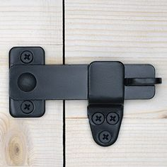 Nordstrand Sliding Barn Door Lock - Rustic Gate Latch for Cabinet Bar Closet Shed Cabin Garage - Black Wrought Cast Iron - Flip & Pull Hook Hardware Kit - Interior & Exterior Use Sliding Barn Door Lock, Barn Door Latch, Barn Door Locks, Gate Latch, Door Gate, Diy Barn Door, Diy Door, Barn Door Hardware, Door Latches