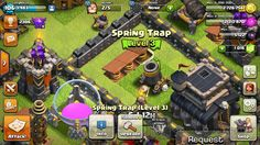 [Misc] Just noticed that when you upgrade the spring trap the spring becomes thicker (lvl 1-3)