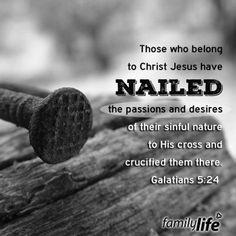 Galatians 5:24