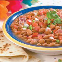 Borracho Beans - I use Nitrate-free bacon and dry pinto beans, and of course I make my own pico!