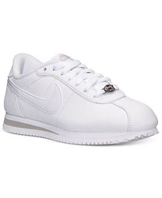 timeless design 6ddee 60497 Nike Women s Cortez Basic Leather Casual Sneakers from Finish Line Runen,  Nike Trainer, Turnschuhe