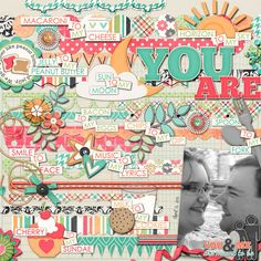 You & Me by Jady Day Studio and Meghan Mullens at Sweet Shoppe Designs Be Cool Templates - Studio Basics at Sweet Shoppe Designs