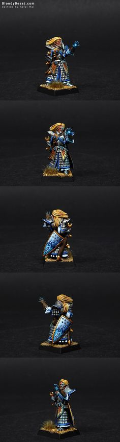 High Elves Loremaster of Hoeth with Shield