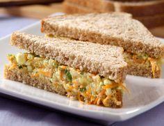 Cantinho Vegetariano: Sanduíche Natural (vegana)