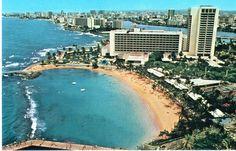 Caribe Hilton Resort   1985  Old San Juan, Puerto Rico