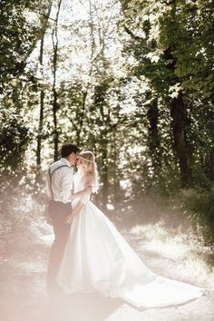 Romantic Wedding in the Forest #wertvollfotografie