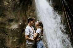 #wasserfall #rinnerberger #klamm #oberösterreich #kirchdorf #sylviafelbermayr #roseslavenderphoto Portrait, Lavender, Roses, Wedding Photography, Beautiful, Couple Photos, Couples, Fun, Waterfall