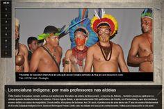Indígenas no ensino superior [Interativo]